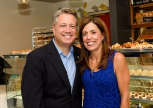 Broward County Commissioner Chip LaMarca with wife Eileen