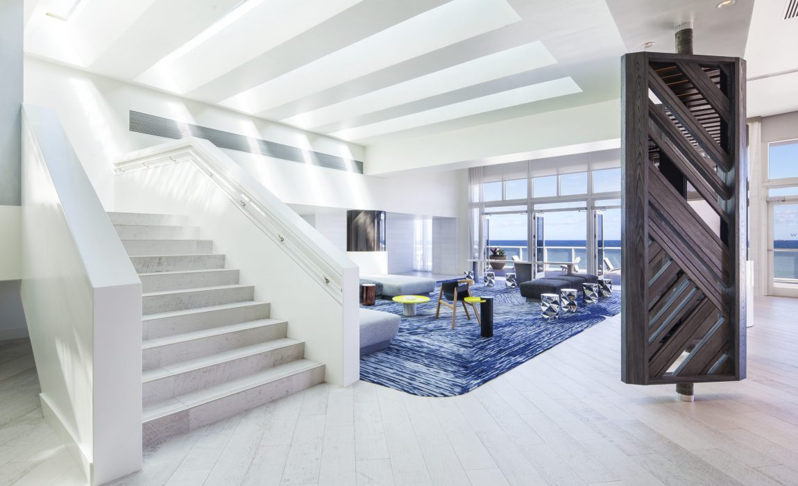 W fort lauderdale spike 39 s peeks the art of travel for W living room fort lauderdale