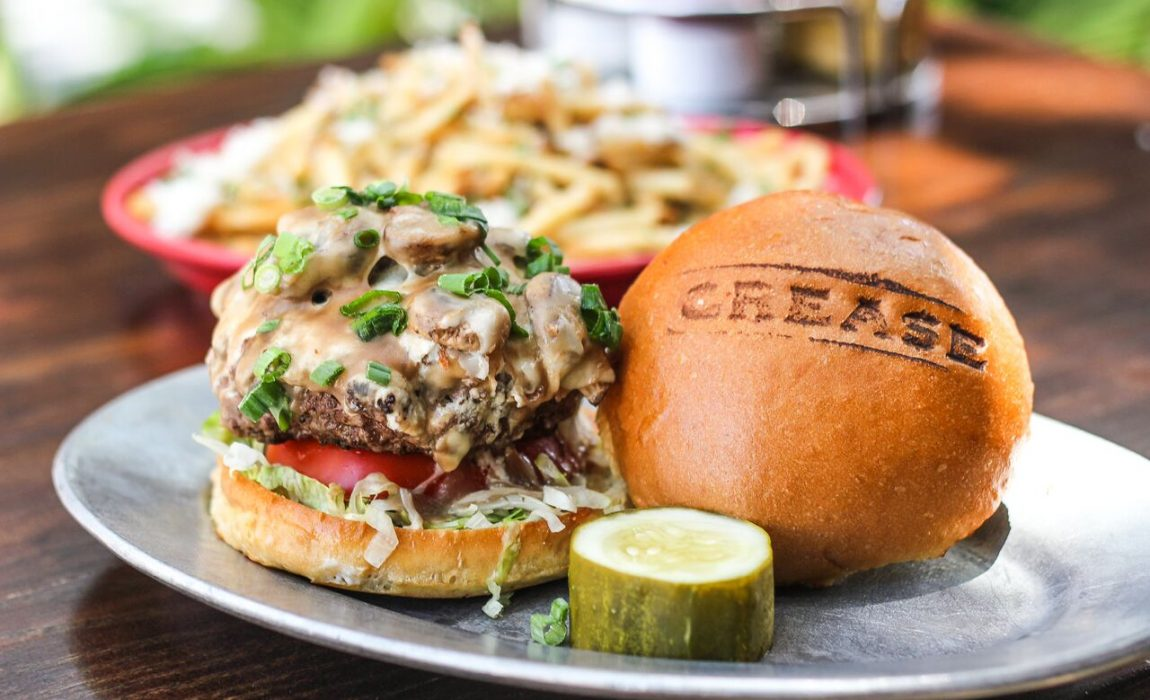 Burgers Are The Word At Grease Burger Bar In West Palm Beach